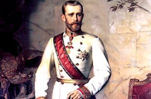 1858. augusztus 21-én született Rudolf főherceg