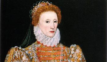 1603. március 24-én halt meg I. Erzsébet királynő