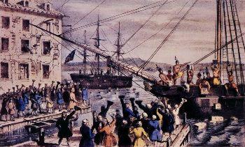 1773. december 16-a a bostoni teadélután napja