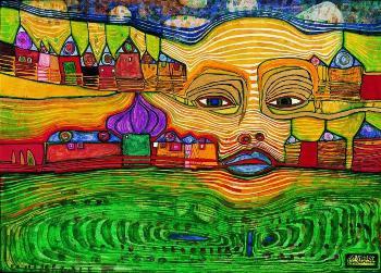 2000. február 19-én halt meg Hundertwasser
