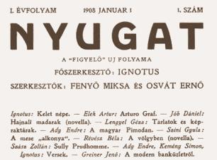 1869. november 17-én született Ignotus