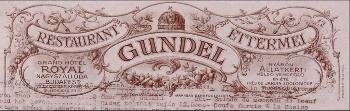 1883. szeptember 23-án született Gundel Károly