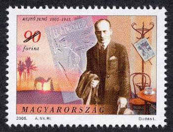 1905. március 29-én született Rejtő Jenő