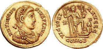 395. január 17-én halt meg I. (Nagy) Theodosius