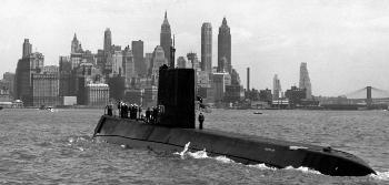 1954. január 21-én vízre bocsátották a Nautilust