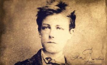 1854. október 20-án született Arthur Rimbaud