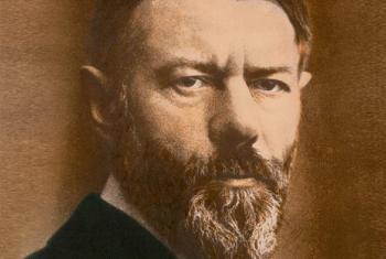 1864. április 21-én született Max Weber