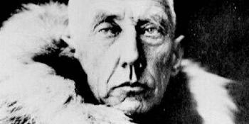 1872. július 16-án született Roald Amundsen