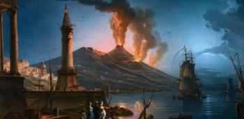 79. augusztus 24-e a Vezúv kitörésének napja