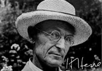 1877. július 2-án született Hermann Hesse