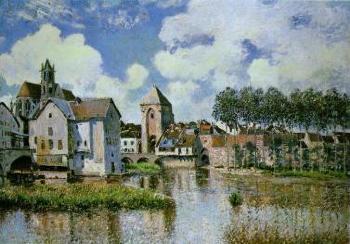 1839. október 30-án született Alfred Sisley