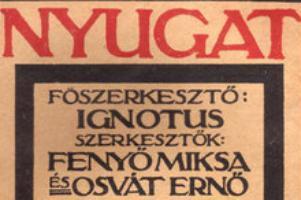 1929. október 28-án halt meg Osvát Ernő