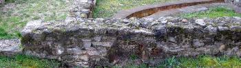 1974. augusztus 26-a: restaurált római kori lakóház átadása