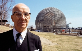 1895. július 12-én született Richard Buckminster Fuller