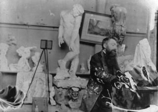 1917. november 17-én halt meg Auguste Rodin