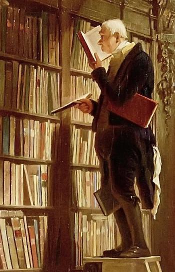 1885. szeptember 23-án halt meg Carl Spitzweg