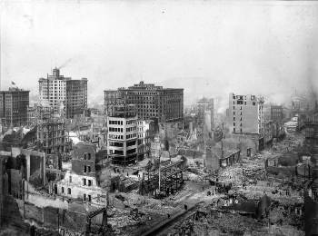 1906. április 18.: földrengés San Franciscóban